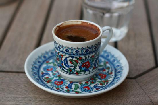 Кофе с чесноком и медом (Турция)