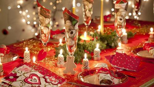 Украшение новогодних блюд 2017