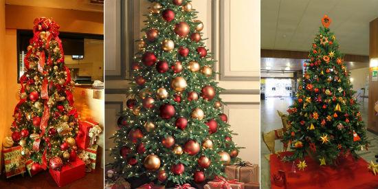 Как красиво украсить елку к новому 2017 году