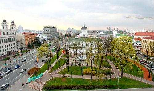 Площадь свободы - Минск