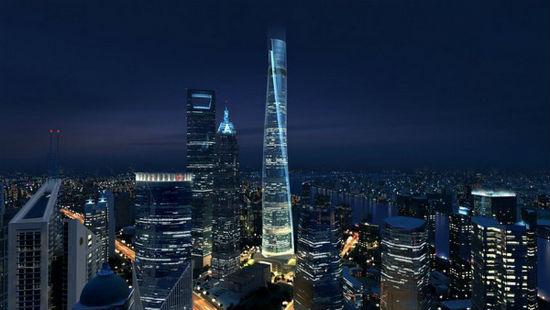 Шанхайская башня, Китай