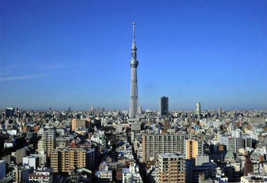 Небесное дерево в Токио